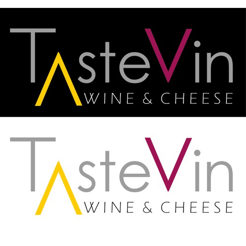 TasteVin needs a logo! Is it possible to design a contemporary, fun, yet sophisticated logo for my wine bar?!