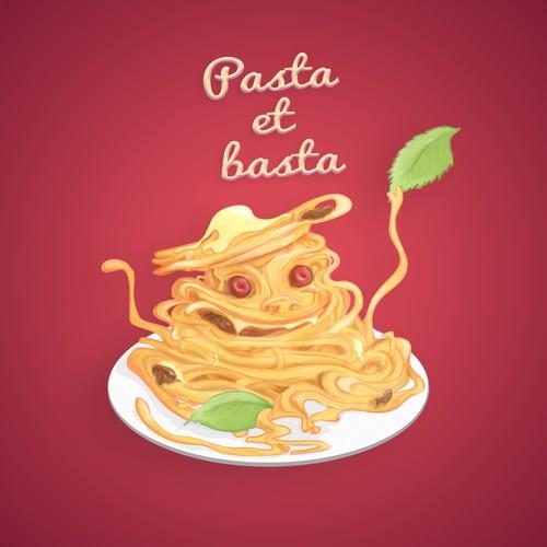 Crazy sweet spaghetti character