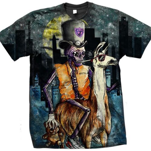 Alpaca tshirt