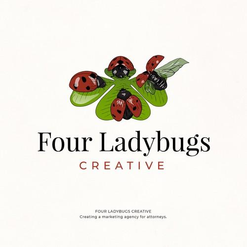 Four Ladybugs Creative