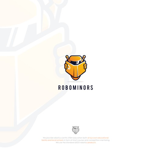 logo concept for ROBOMINORS