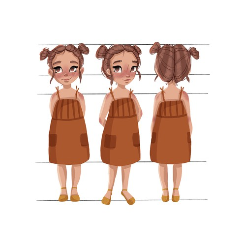 Character design for a Family Animation Studio