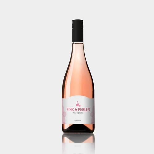 Label design for Pink & Perlen