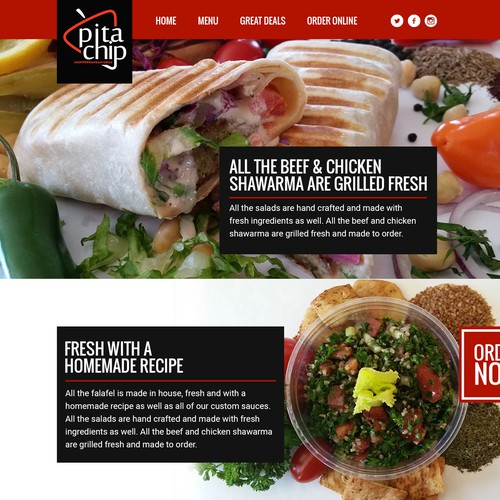 Mediterranean Restaurant Website