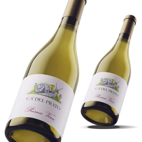 Ca Del Prato - Prima Vera wine label