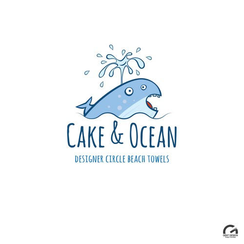 Logo design for beach towel shop