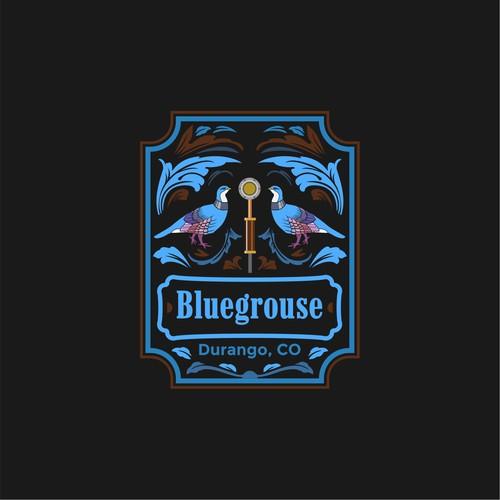 Bluegrouse