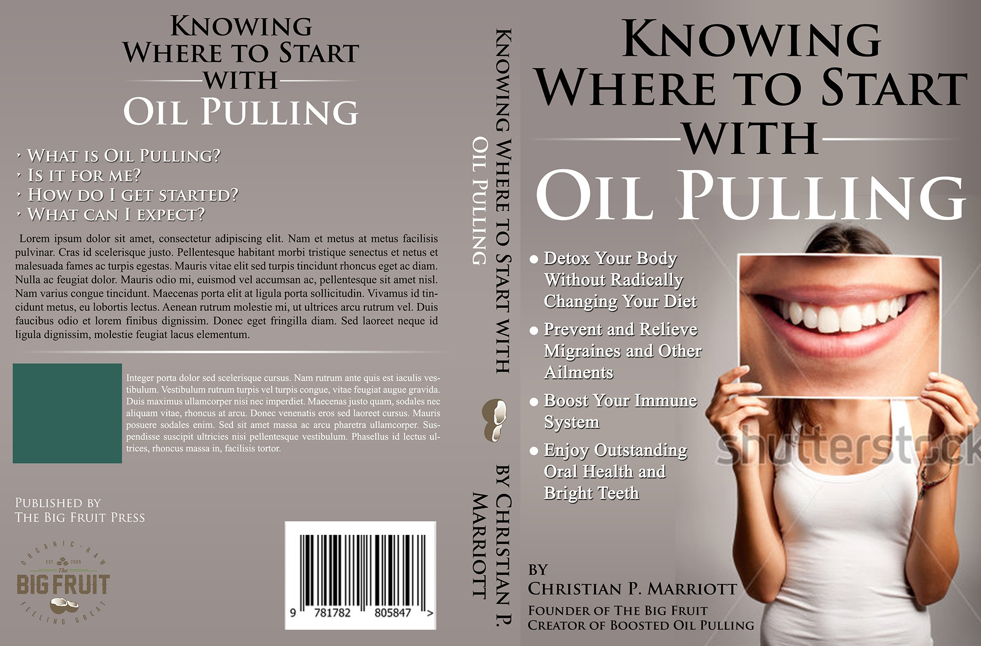 Innovative eBook Cover for - Knowing Where to Start with Oil Pulling.