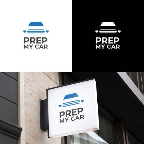 Prep my car (Logo for auto detailing)