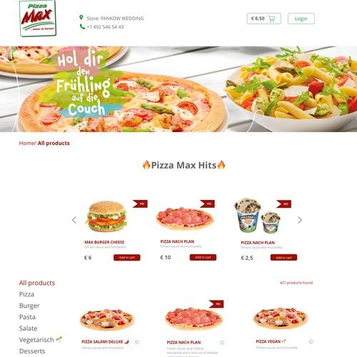Concept for pizzeria