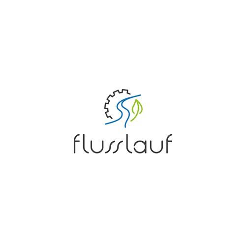 Logo-Design für ein Ingenieurbüro für Gewässerökologie und Wasserbau