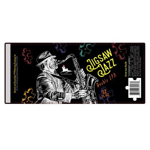 Illustrative Label for Craft Beer