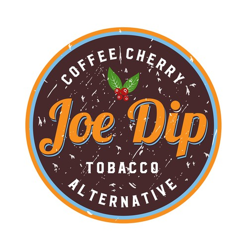 Eye popping logo for Joe Dip!