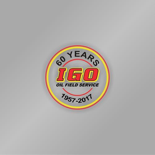 Business need 60th anniversary logo