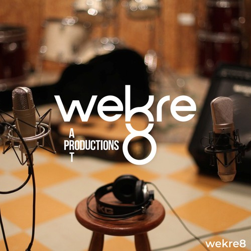 Logo for a post production company Wekre8