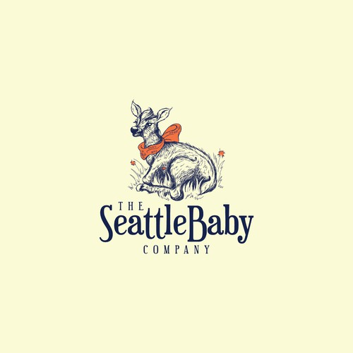Baby Elk design for Baby Accessories Company