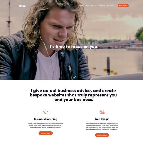 Portfolio website of my work