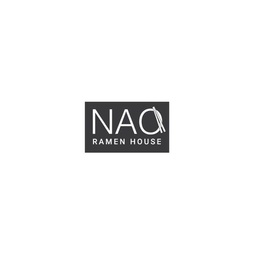 Logo design for NAO Ramen House