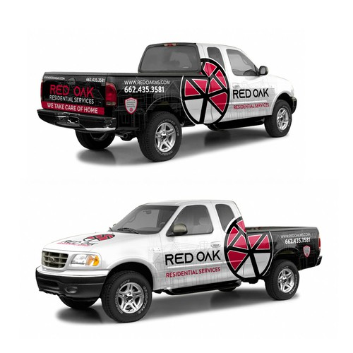 Red Oak Residential Services wrap
