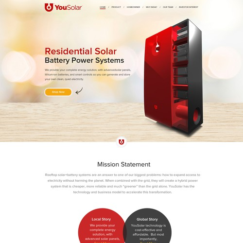 Web Page Design For You Solar