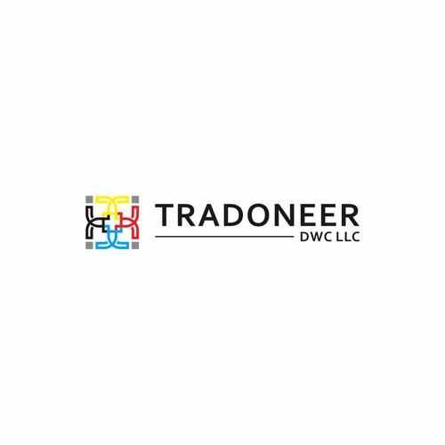 logo design for tradoneer dwc llc