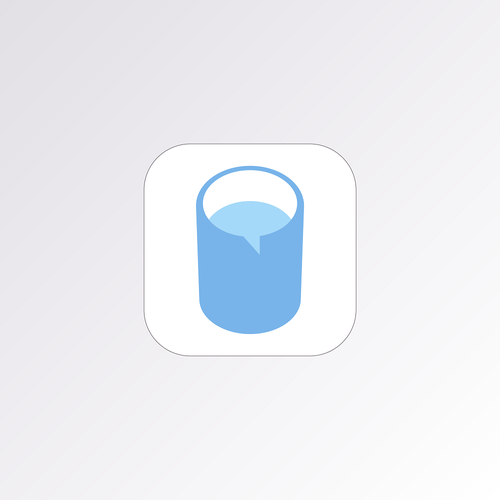 App Icon design for Drinple