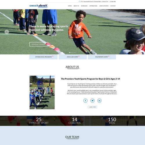 Coach Derek website