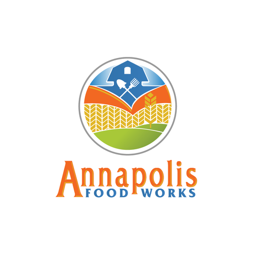 Food production company logo