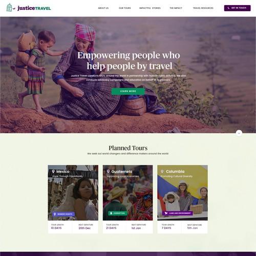 Web Design For Justice Travel
