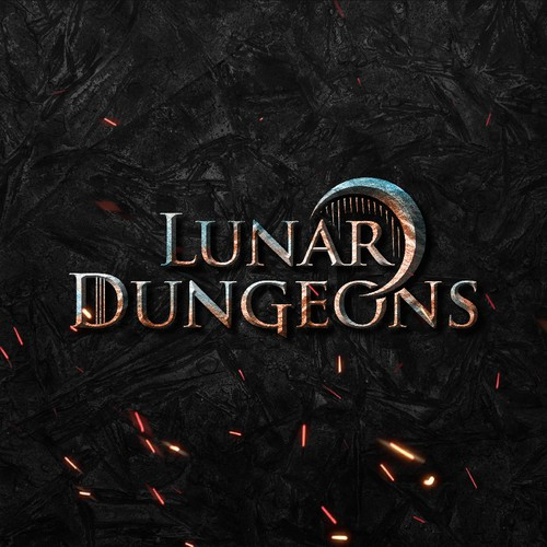 Game Logo for Lunar Dungeons