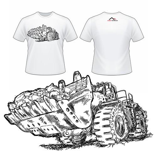 Truck design for shirt contest