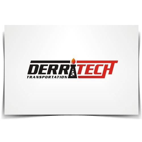 Create a new logo for Derritech Transportation a Oil Transportation Company