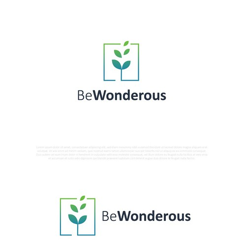 Simple logo design concept