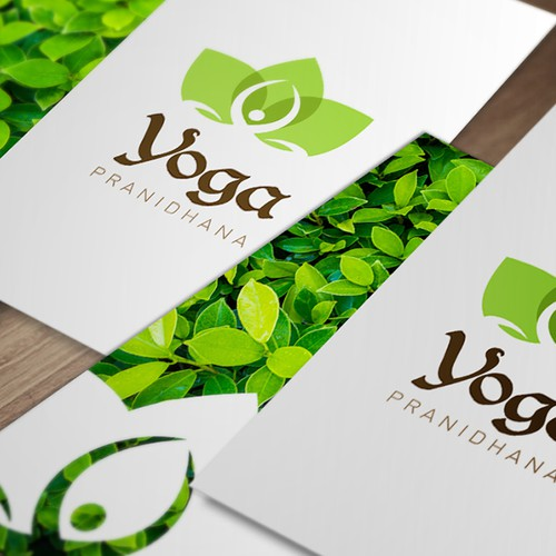 Create a graceful logo for a Yoga-Taichi-Indian dance school of living