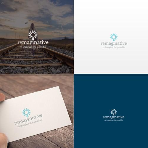 Re imaginative -logo design