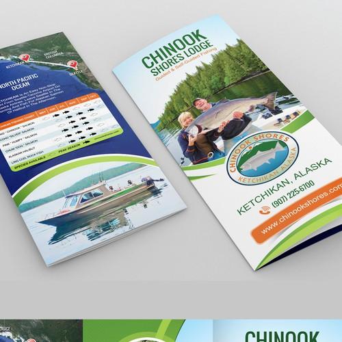 Alaska Fishing Lodge Brochure