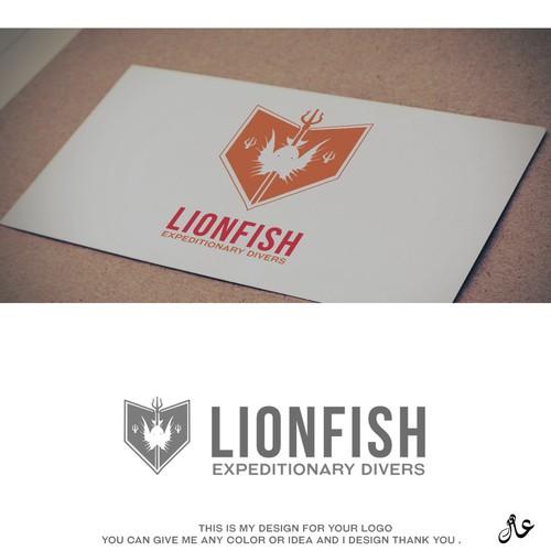 Logo Lion Fish