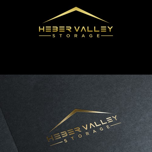 Create a classy logo for Heber Valley Storage