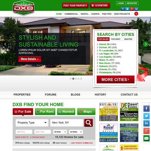The launching of Best Real Estate Portal Brand & Franchise
