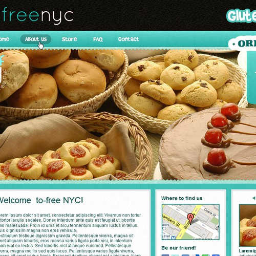 Simple & Fun Wordpress design needed for NYC store.