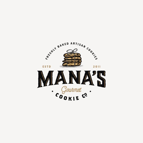 Logo For Mana's Cookie Compnany