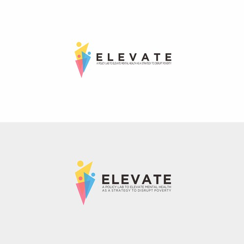 Simple and Colorful Logo for Elevate