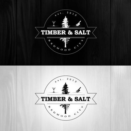 Create a logo for a Cocktail-forward restaurant / bar