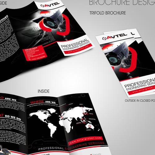 AVTEL soft brochure design