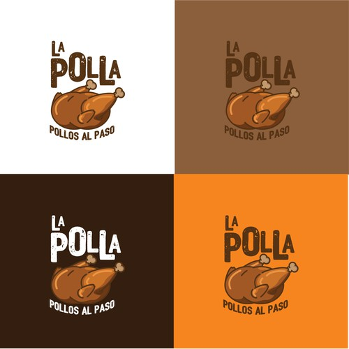 A fully new logo for a Chiken restaurant (roasted chiken)
