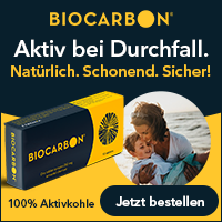 Online Banner Ad for a Digestive Remedy made of Activated Charcoal