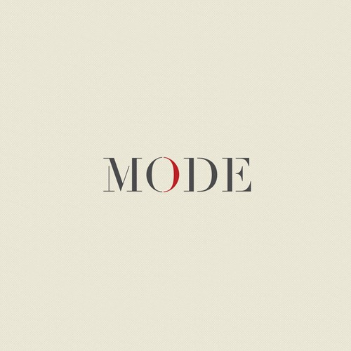 Mode, super clean logo