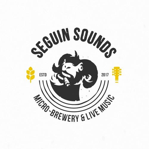 SEGUIN SOUNDS logo concept