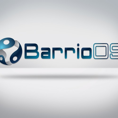 Modern Logo for Barrioos.com