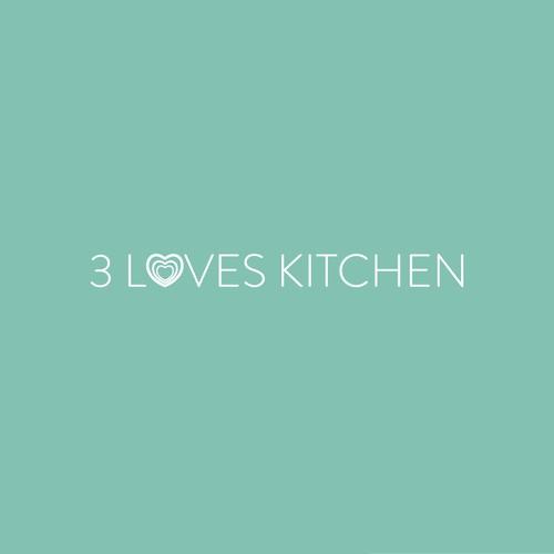 3 Loves Kitchen Logo